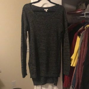 Black Nordstrom's BP long sweater